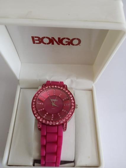 Relogio Bongo Bg9016 Original Vermelho