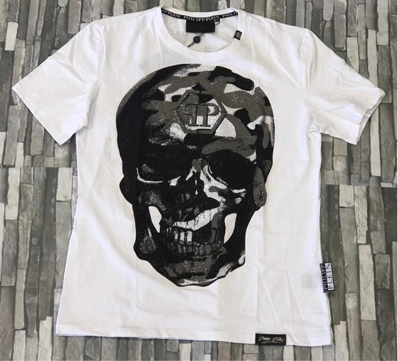 Playera Philip Plein Calavera Moda Regalo Ideal