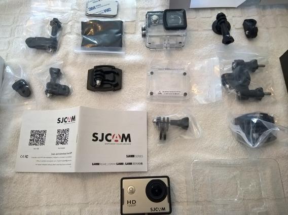 Camera Esportiva De Ação Sjcam Sj4000 Genuína