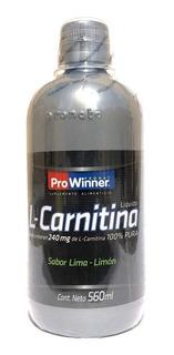 Carnitina 240 Mg Sabor Lima-limón De 560 Ml Prowinner.