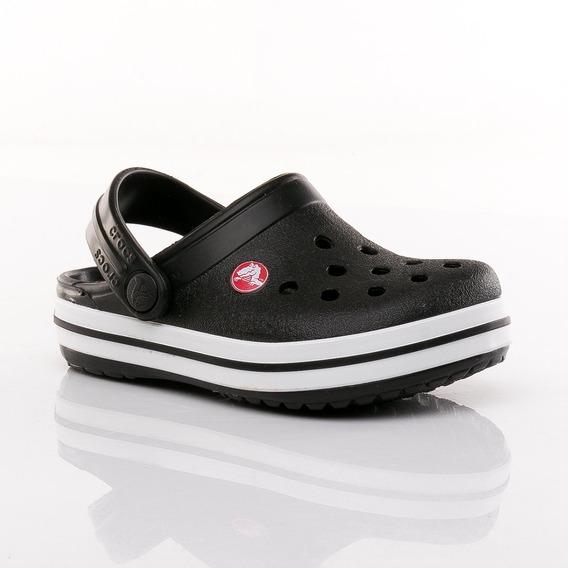 Sandalias Crocband Kids Black Crocs