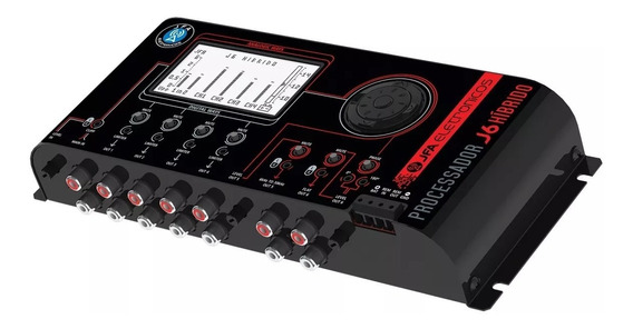 Processador De Áudio Digital Jfa J6 Pro Crossover Híbrido