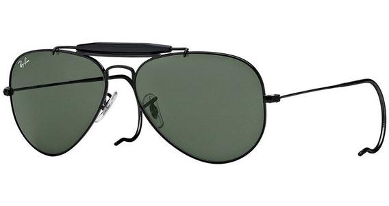 Ray-ban Outdoorsman Rb3030 L9500 58 - Preto/verde Clássico G