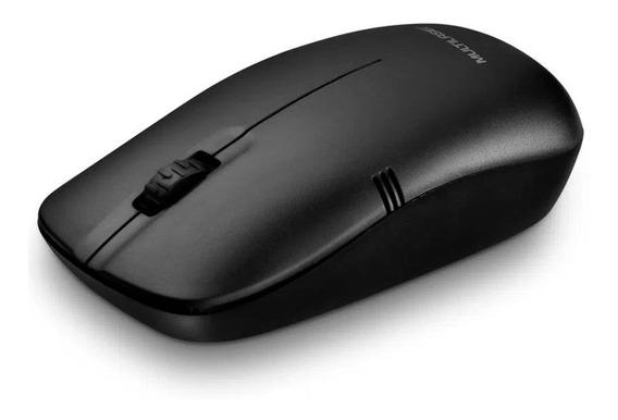 Mouse Sem Fio 2.4ghz 1200dpi Alcance 6mts Multilaser Mo285