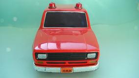 Brinquedos Estrela Fiat 147 Bombeiro Pilha Plastico Metalma