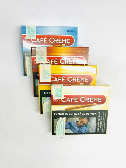 Cafe Creme Cigarros 10u - Candyclub Local Once