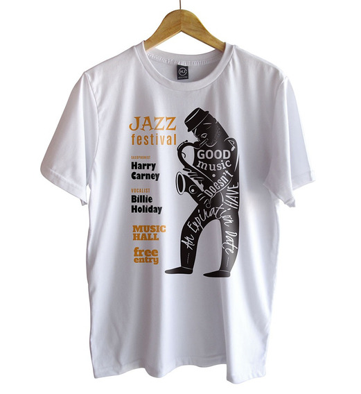 Camiseta Nego John Jazz