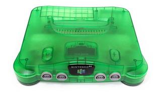 Nintendo N64 64MB verde semitransparente