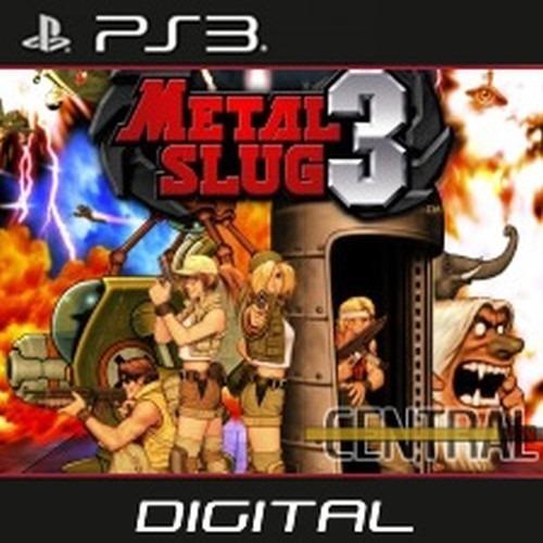 Metal Slug 3 Ps3 Playstation 3