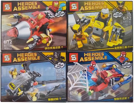 Lego Avengers 446 Peças Vingadores Ultimato Guerra Infinita