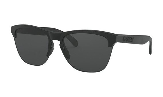 Óculos Oakley Frogskins Lite Matte Black Lente Grey