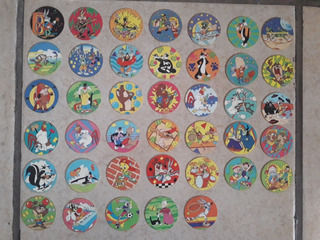 Tazos Looney Tunes 1994 Colección Completa 1 Al 40