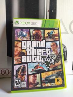 Gta V Xbox 360 Original Físico Usado