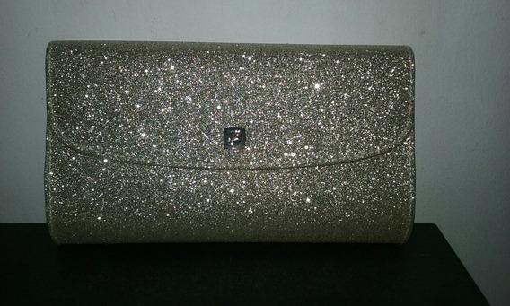 Cartera Sobre Lancome Glitter Como Nueva Oportunidad!