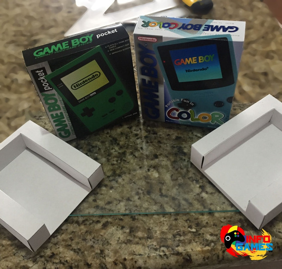 Caixa, Game Boy Pocket Diversas Cores! Pergunte + Envio
