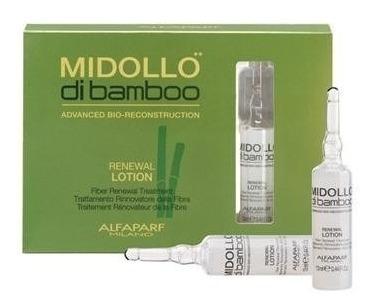 12 Ampolletas Midollo Di Bamboo Reconstituyente Alfaparf
