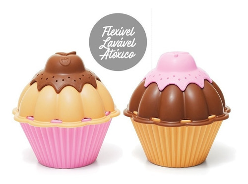 Juego De Encastre Cupcakes Original Rivaplast