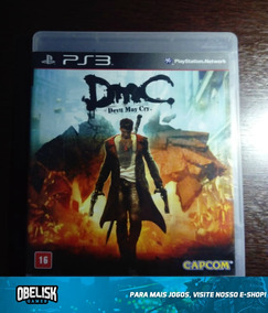 Jogo Devil May Cry Ps3 Playstation 3 Midia Fisica Original