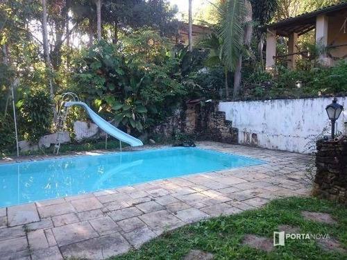 Chácara Com 3 Dormitórios, 1500 M² - Venda Por R$ 850.000,00 Ou Aluguel Por R$ 5.000,00/mês - Condomínio Meu Recanto - Embu Das Artes/sp - Ch0055