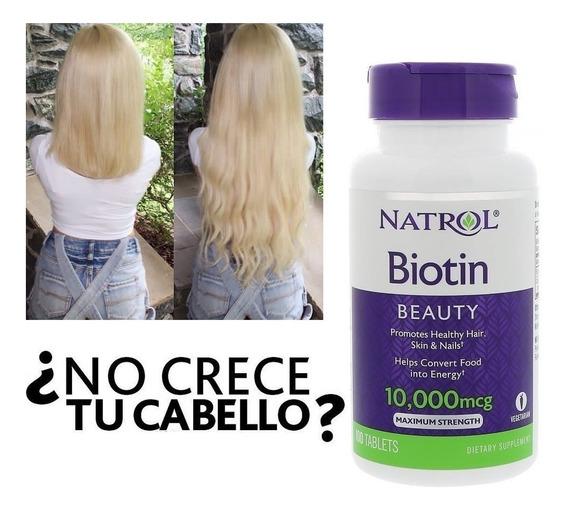 Acelera Crecimiento Uñas Cabello Biotinx Crecepelo Maxx
