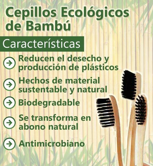 Cepillo De Dientes Ecológico De Bambú