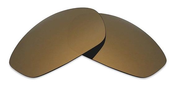 Lente Whisker Marrom Gold Brown Dourada Polarizada