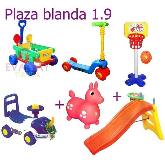 Plaza Blanda Vegui 6 Andarin Tobogan Saltarin Comb
