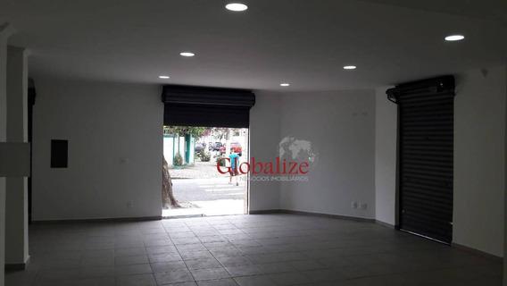 Loja Para Alugar, 120 M² Por R$ 5.500/mês - Vila Belmiro - Santos/sp - Lo0002