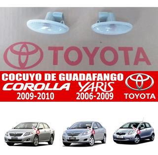 Cocuyo Cruce Guardafango Yaris 2006 2007 2008 2009
