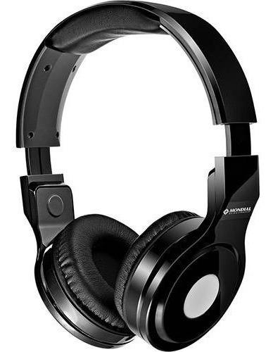 Fone De Ouvido Mondial Headphone Preto Hp-01 Street