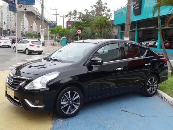 Nissan Versa 1.6 16v Flex Unique 4p Xtronic Ótimo Para Uber