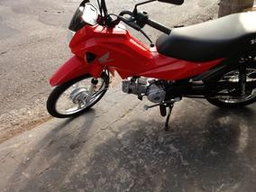 Honda Pop 110 I 2017 Vermelha Gasolina