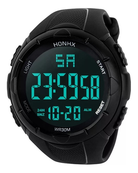 Relógio Digital Sport Shock Resistente Aprova Dàgua Barato !