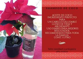 Shampoo De Coco Y Crema De Peinar De Coco