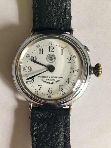 Reloj Roskopf Cuervo Y Sobrinos Antiguo