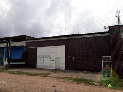 Galpão À Venda, 630 M² Por R$ 430.000 - Oitizeiro - João Pessoa/pb - Cod Ga0002 - Ga0002