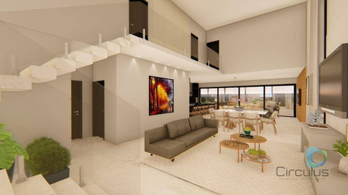 Casa Com 3 Dormitórios À Venda, 340 M² Por R$ 2.200.000,00 - Alphaville - Ribeirão Preto/sp - Ca1952