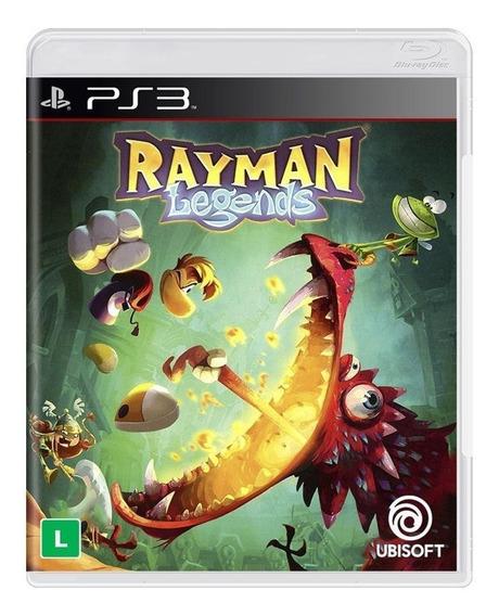 Rayman Legends Ps3 Mídia Física Novo Lacrado
