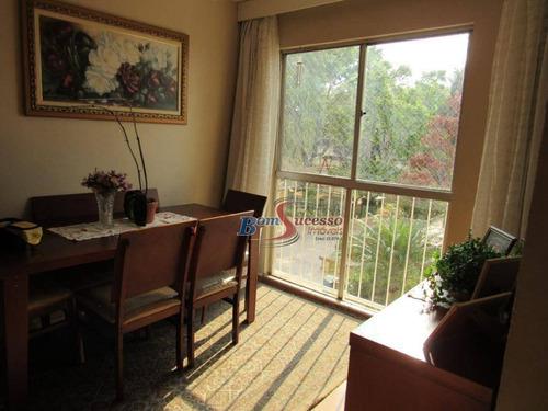 Apartamento Com 2 Dormitórios À Venda, 52 M² Por R$ 260.000,00 - Vila Antonieta - São Paulo/sp - Ap2901