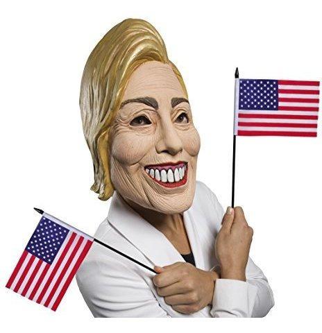 Rubies Womens Famous Faces Mascara Politica Hillary