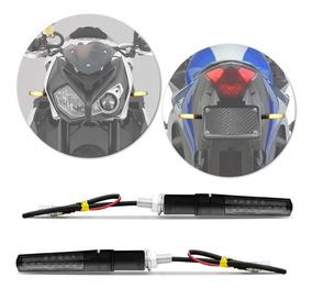 Seta Pisca Led Moto Slim Titan 150 Cg160 Cg125 Fan150 Fumê