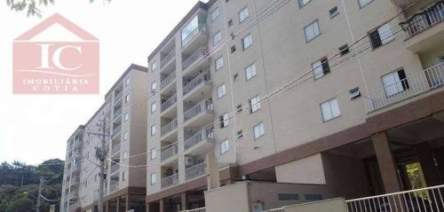 Apartamento Com 2 Dormitórios À Venda, 60 M² Por R$ 215.000,00 - Granja Clotilde - Cotia/sp - Ap0335