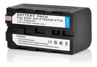 Kit De Cargador + Bateria De 4400mah Para Luces De Video
