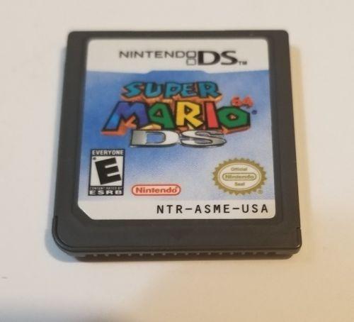 Jogo Super Mario 64 Ds 3ds Só A Fita - Original Usa