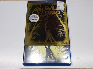 Blu Ray Ash Vs Evil Dead Season Temporada 1 Cover Lenticular
