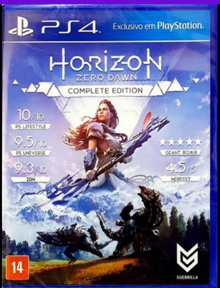 Horizon Zero Dawn Complete Edition Lacrado Ps4 Midia Física