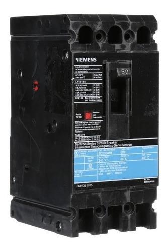 Imagen 1 de 2 de Siemens® Interruptor Electromagnético Ed2 100a Ed23b100mx