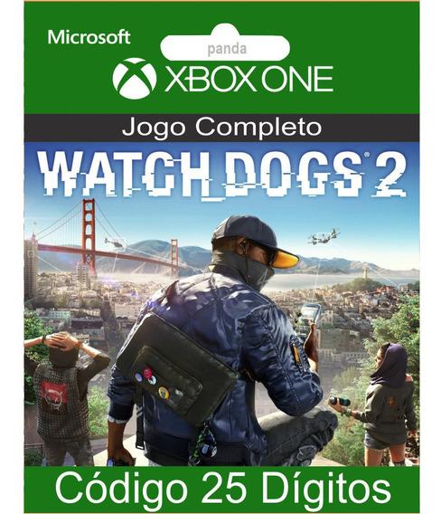 Watch Dogs 2 Xbox One Codigo 25 Digitos Oficial