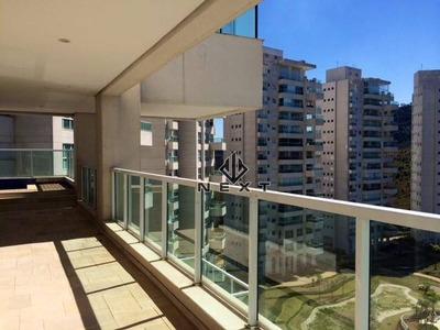 Apartamento Com 4 Suites Para Locação, 284 M² No The Penthouses Tamboré - Alphaville - Sp - Ap0193