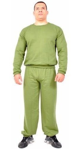 Agasalho Moletom Tfm Verde (conjunto)